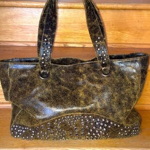 Bryna Nicole Studded Tote Western look!